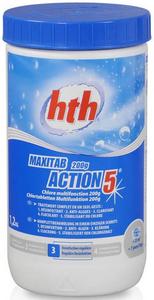 HTH Многофункциональные таблетки стабилизированного хлора 5 в 1, 200 гр. 1,2 кг K801751H9