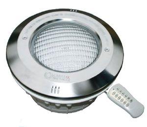 Прожектор светодиодный с накладкой из нерж. стали и пультом Emaux RGB (LED-NP300-S)