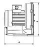 Компрессор HPE 1.3м/54 м3/ч 0,85 кВт 220В (HSCO140-1MA850-1) test