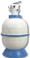 Фильтр БЕЗ НАСОСА (500мм) (бок. подсоед.) Kripsol GRANADA GL506 (с 6-ти поз.вентилем)