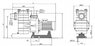 Насос с префильтром  58 м3/ч Kripsol Kapri KAP-350 3,3 кВт 380В купить в Самаре