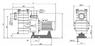 Насос с префильтром  90 м3/ч Kripsol Kapri KAP-550 4,7 кВт 380В купить в Самаре