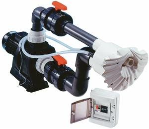 Противоток (50 м3/ч 2.3 кВт 220В) (универсал.) HIDROJET JSL-40 (комплект)