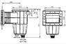 Скиммер под пленку IML с круглой крышкой (А054) test