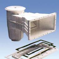 Скиммер под пленку IML с квадратной крышкой (А056)