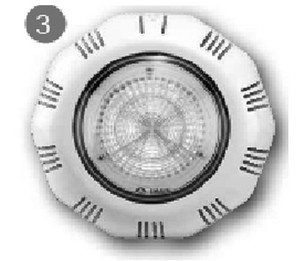 Прожектор светодиодный Emaux под плитку RGB (LEDTP-100)